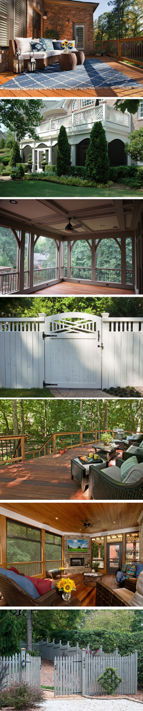 Atlanta Decking and Fence Montage